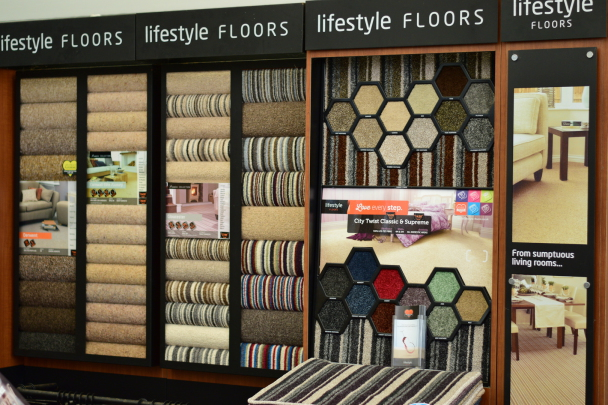 Lifestyle Floors at Rainbow Carpets and Beds