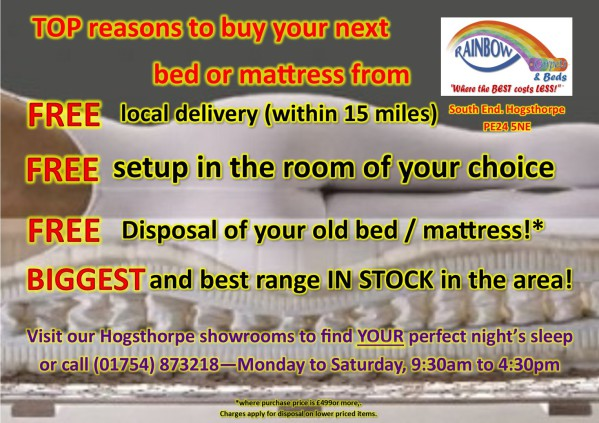 Rainbow Carpets and Beds - the VERY best service available!