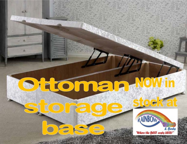 Simply the best range of ottoman bases!