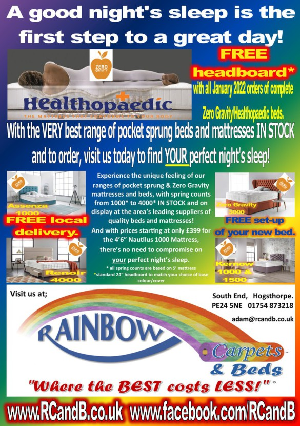 Superb beds & mattresses from Healthopaedic